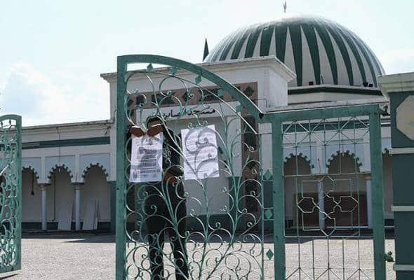 116 ditahan polis kerana solat jumaat di masjid
