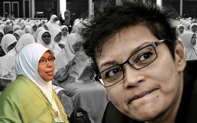 Dewan Muslimat Pas beri sokongan tidak berbelah bagi kepada Azalina