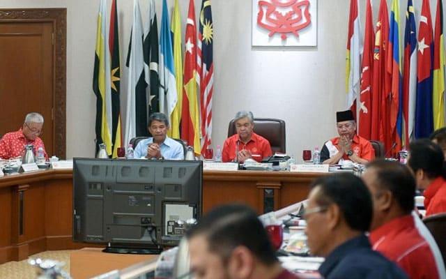Gempar !!! Tarik balik sokongan terhadap kerajaan PN dijangka jadi agenda mesyuarat Umno esok