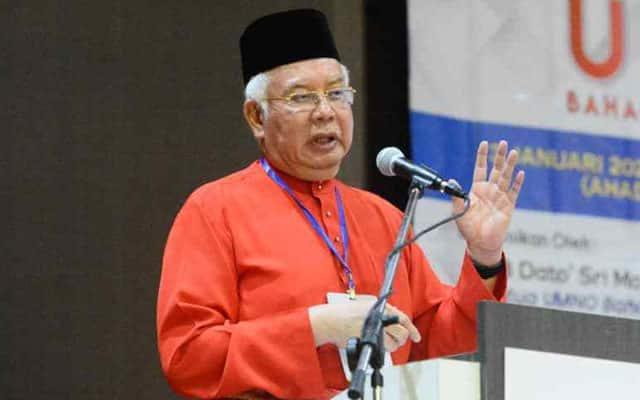 Najib selar golongan dalam Umno yang asal ada jawatan Menteri sudah gembira