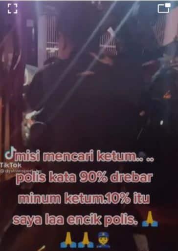 Pemilik akaun TikTok dicari Polis, muat naik video 'misi mencari ketum'